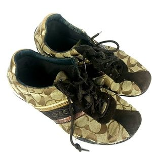 Coach Jayme Signiture C's Sneakers Tennis Shoes 9